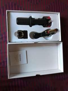 Huawei bnew accessories: selfie stick, usb cord  C & ring