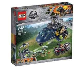 (News) Lego 75928 Jurassic World Blue's Helicopter Pursuit #ENDGAMEyourEXCESS