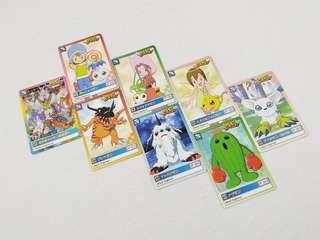65張 數碼暴龍咭 (日版 白咭 非閃卡 大冒險01 懷舊 童年 回憶 Bandai Digimon Card)