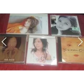 陳潔儀 陈洁仪 Kit Chan Chen jie yi chinese 5 cd album forbidden city soundtrack