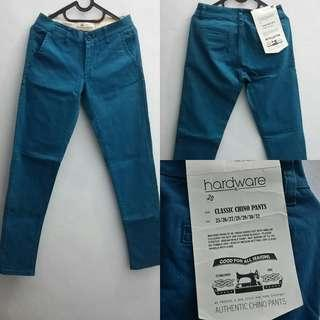 Celana Jeans Classic Chino Pants size 28