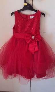 Girls size 5 formal dress