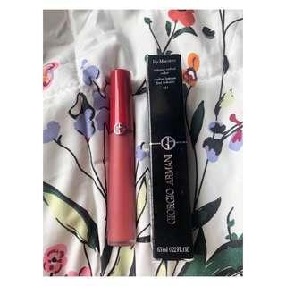 春季新出 Armani Lip Maestro Freeze 唇釉 唇膏 #410 sienne $230 (專門店$285) 包平郵