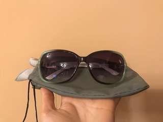 (全新)太陽眼鏡一副(連眼鏡布及眼鏡袋)(+$5可轉眼鏡盒)