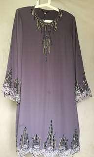Flowy Baju Kurung Bead