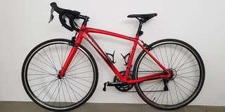 POLYGON STRATTOS S2 RED road bike (size:49)