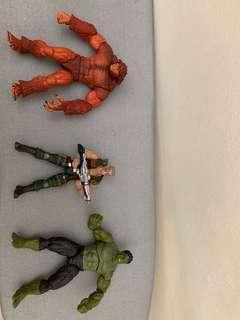 Marvel Legends Sasquatch 、Nuke、Hulk