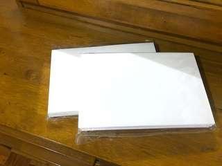 45pcs 5x7 off-white envelopes