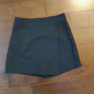 🚚 黑色 A字褲裙