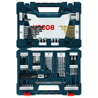 Bosch Drill Bits 91-Piece Drilling and Driving Mixed Set Imperial SAE Inch [34% DISC]
