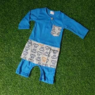 Baby Jumper Melayu ♡ Deep Sky Blue ♡