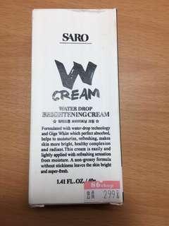 SARO W Cream 水粒霜