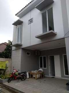 Rumah Bagus 2 Lantai Cluster (Indent)  Akses Jalan Besar Lokasi Jl. M. Kahfi 2
