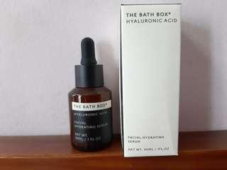 Hyaluronic Acid Serum The Bath Box (90% with box)