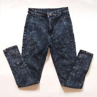 Acid Wash Jeans Wanita