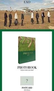 "EXO ""PRESENT; gift"" photo book"