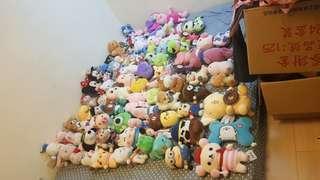 各種娃娃一次購買另有優待……100支左右