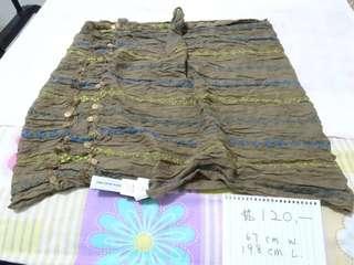 Bland new 全新 1937 shawl 披肩 67x198cm Made in India