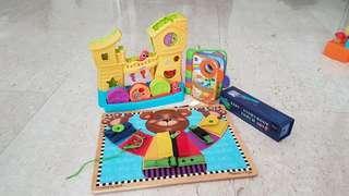 Bundle of branded toys