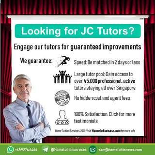 Home tuition by experienced tutors | Ex-MOE | Full-Timers | Part-Timers | All subjects!