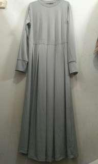 Gamis Light Grey