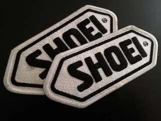 Original Shoei embroidery patches