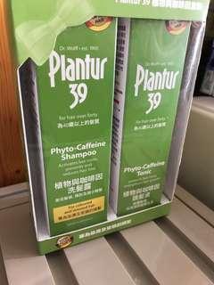 Planter 39植物與咖啡因洗髮露套裝
