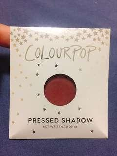🚚 COLOURPOP 單色眼影 GET OUT 酒紅色