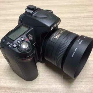 D90 with 35mm 1.8 AFS lens + Handgrip