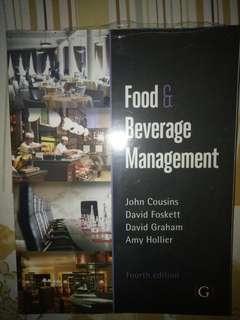 Food & Beverages Management fourth edition
