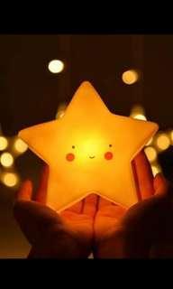 Lampu Tidur tumblr bintang star