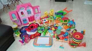 Kids Toys, bundle of branded toys