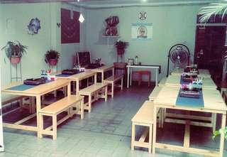 Meja Kursi Restoran 8 pasang