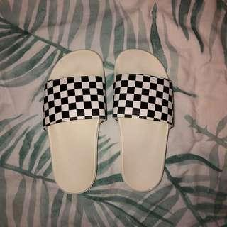 vans check board slides