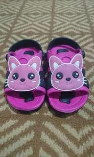 FREE Sandal Anak Pink Cat