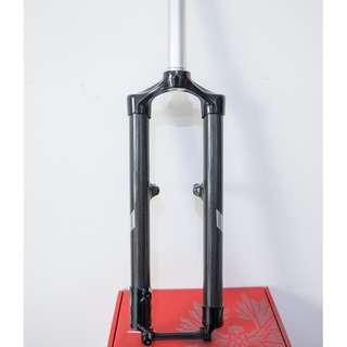 "Shimano PRO XCR 445 Carbon Fork 26"" 27.5"" 29"" disk brake use , 26 V brake use"