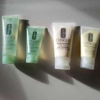 Clinique Skin Care x 4. New.