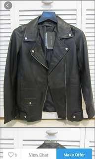 PENIPU !!! Zara leather jacket