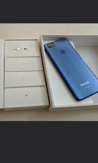 手機 sugar s11 海軍藍 4g 64g 95% new 6吋 FHD 全配 送副廠傳輸線。全新 兩條