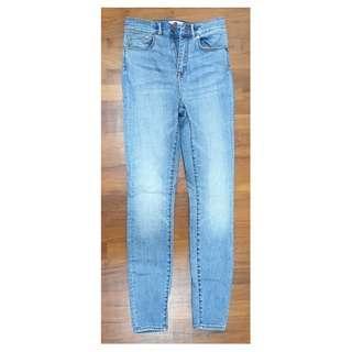 🚚 Grana Women's High Rise Skinny Jeans