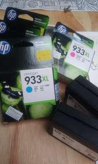 🆕 (Free 📮 Flexi) 933XL Cyan HP Officejet Ink Cartridge