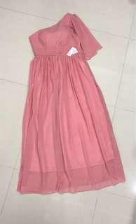 Pink Color Dinner Dress
