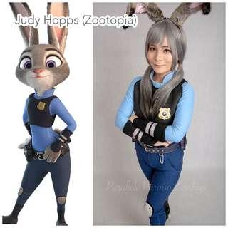 Judy Hopps Zootopia Movie Costume Rental (Character / Halloween / Animal / Annual Dinner / Event / Party) DISNEY