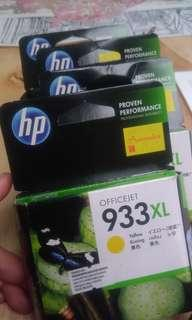 🆕(Free 📮Flexi) 933XL Yellow HP Officejet Ink Cartridge