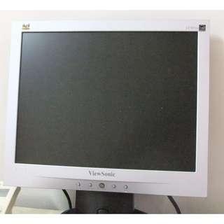 [現貨] 中古 viewsonic 15吋液晶螢幕 板橋可面交 請看關於我