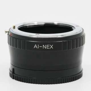 Adapter Nikon AI to Sony E 轉接環