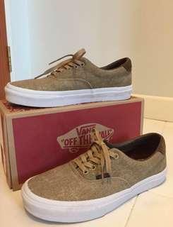 Authentic Vans brownish beige Shoes birds/ cornstalk