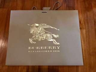 🚚 Big Burberry Paper Bag