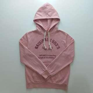 Pink Hoodie Polos Nauural