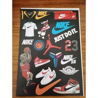 Nike Off-White, Air Jordan, SB, Cortez, Kobe Mamba Stickers #APR75